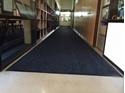 Picture of Micah Premier Rollstock Entrance Matting -Smooth Back- in Blacksmoke Fully Edged - CUSTOM SIZE-MATT359295- (EA)