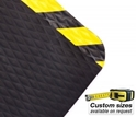 Picture of Comfort Ease Extreme Mat #370Y DuraStep Anti-Fatigue Nitrile with Yellow bevelled edge - CUSTOM SIZE-MATT359992- (EA)