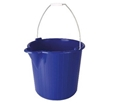 Picture of Industrial Strength Bucket with Metal Handle - 12L -BUCK369910- (EA)