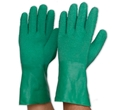 Picture of Gloves Latex Gauntlet with Crinkled Palm for superior grip - Green-GLOV471691- (PAIR)