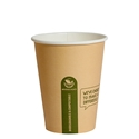 Picture of 12oz Biodegradable Single Wall Kraft Coffee Cup-BIOD076202- (SLV-50)