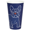 Picture of 16oz Biodegradable Single Wall Coffee Cup - Gallery Series (Mixed Print Selection)-BIOD076234- (SLV-50)