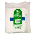 Picture of Garbage Bin Liners 240L Clear Biodegradable - 1415 x 1000mm-GARB025895- (CTN-100)