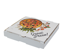 Picture of Pizza Box 12in Cardboard Printed-PIZZ155500- (SLV-100)
