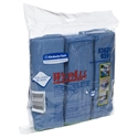 Picture of Microfibre Cloth with Microban Antimicrobial Protection 40cm x 40cm - Blue - Wypall-WIPE378021- (SLV-6)