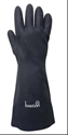 Picture of Black Neoprene, Heat Resistant, Cotton Lined Gloves-GLOV471688- (PACK-6)