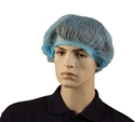 Picture of Hair Nets Non Woven CRIMPED BLUE 24in Extra Large -APPR491863- (CTN-1000)