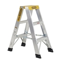 Picture of Aluminium Double Sided Step Ladder 900mm - 150kg Rated-MSAF838705- (EA)