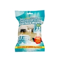 Picture of Alcohol Surface Wipes Antibacterial Kills 99% of Germs - Packets of 25-WIPE379530- (PACK-25)