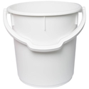 Picture of Plastic Bucket 22L With Plastic Handle - White-STOR900720- (EA)