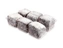 Picture of Clear 6 Serve Lamington Tray - 235mm x 155mm x 35mm-HCON149770- (CTN-528)