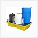Picture of Bunded Pallet / Spill Tray - 1000mm x 605mm x 200mm  - 60L-MSAF838890- (EA)