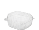 Picture of Clear Plastic Burger Pack Small - 100x90x65mm (Internal) - Castaway CA-CVP046-HCON149351- (SLV-250)