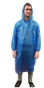 Picture of Poncho Polyethelene Disposable Blue-APPR495160- (CTN-200)